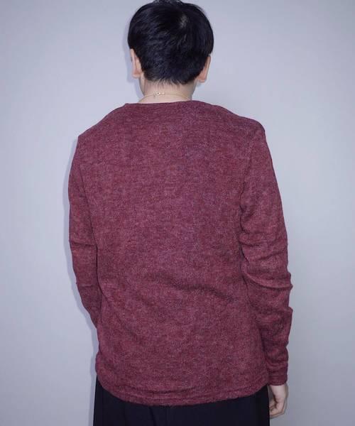 【Bling Leads】ニットソークルーネックセーター