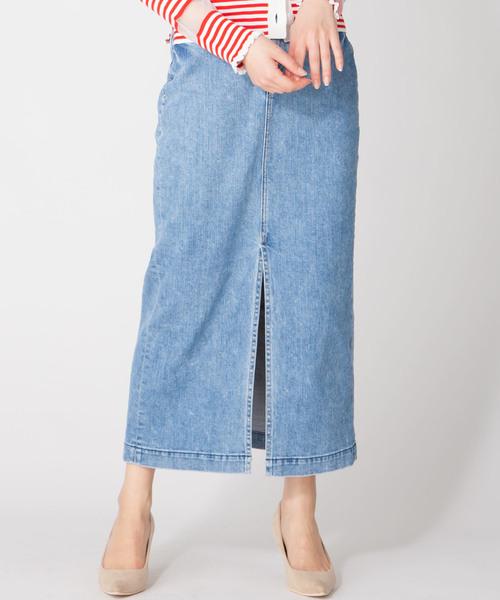 独特な 【YANUK Long/Slit en Long recre,アン Skirt】スリットロングタイトスカート(デニムスカート)|YANUK(ヤヌーク)のファッション通販, CARPARTS Web Store:6fcd754d --- hausundgartentipps.de
