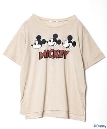 AS KNOW AS PINKY(アズノゥアズピンキー)の☆なかよしミッキーT【Disney(ディズニー)】(Tシャツ/カットソー)
