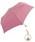 Wpc.(ダブルピーシー)の「【Wpc.】オンライン限定無地アンブレラ(晴雨兼用) パールチャームmini(折りたたみ傘)」|スモークピンク
