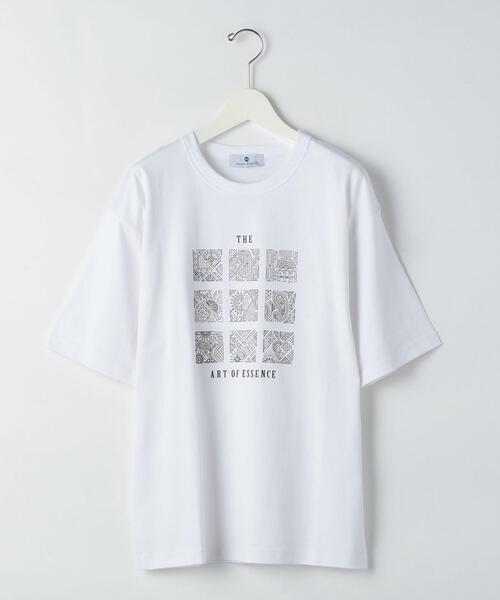 [ フォスフォ グラフィカ ] SC PhosphoGraphica クルーネック 半袖 Tシャツ