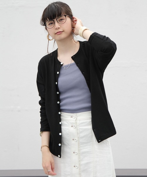 ORCIVAL/オーシバル LIGHT FLEECY CARDIGAN #RC-9247