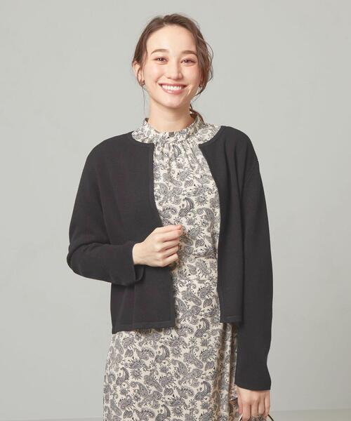 <closet story> カノコ ニットジャケット