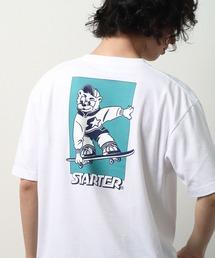 【 STARTER / スターター 】 キャラクターグラフィックTシャツ プリントTシャツ 半袖 X58708J BNUホワイト