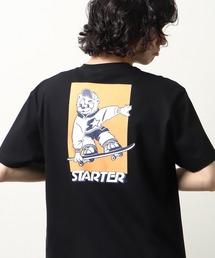 【 STARTER / スターター 】 キャラクターグラフィックTシャツ プリントTシャツ 半袖 X58708J BNUブラック