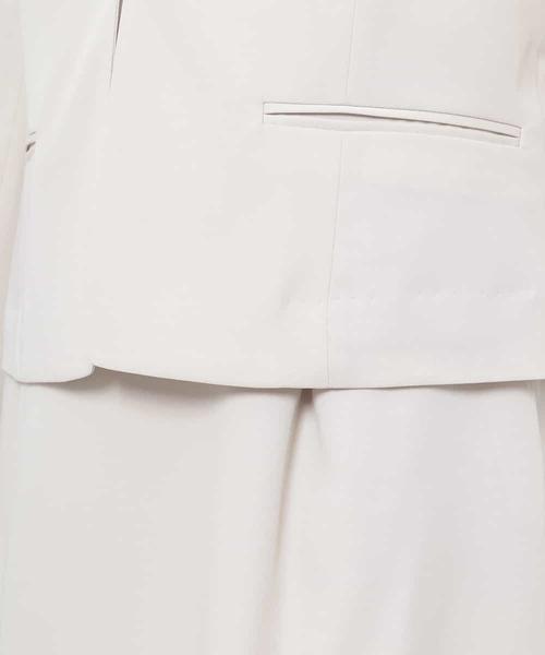 【快適】ノーカラージャケット