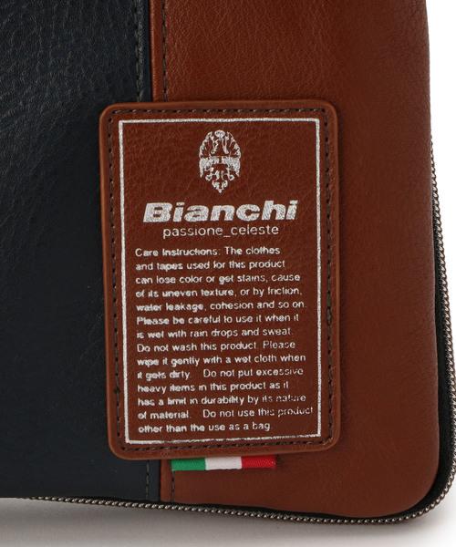 【Bianchi(ビアンキ)】別注口折れショルダー&クラッチバッグ