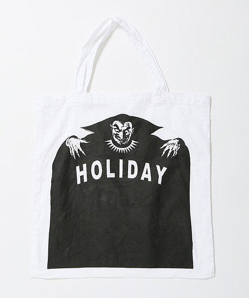 HOLIDAY(ホリデイ)の「SPELL BAG スペルバッグ(トートバッグ)」|ホワイト