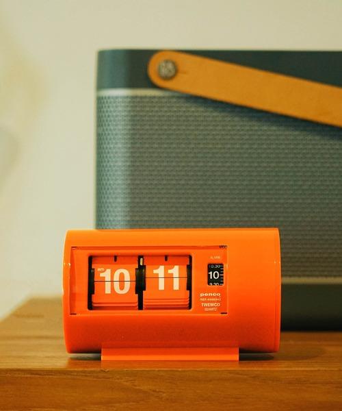 penco(ペンコ)の「penco ペンコ デスククロック(置時計)」|オレンジ