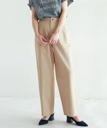 NOMBRE IMPAIR(ノンブルアンペール)の【Fabric in Italy】リッチツイル ワークパンツ(カーゴパンツ)