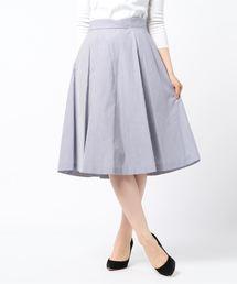 b1c483af0cb1d STRAWBERRY-FIELDS(ストロベリーフィールズ)の「オータフタ スカート(スカート)」
