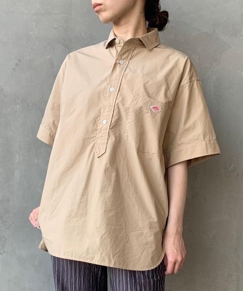 Danton(ダントン)の「[DANTON/ダントン] コットンポプリンシャツ(シャツ/ブラウス)」|詳細画像