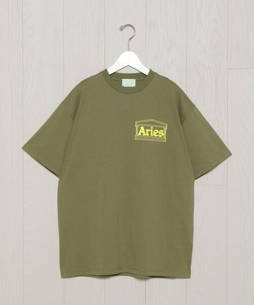 <ARIES>TEMPLE T-SHIRT/Tシャツ.