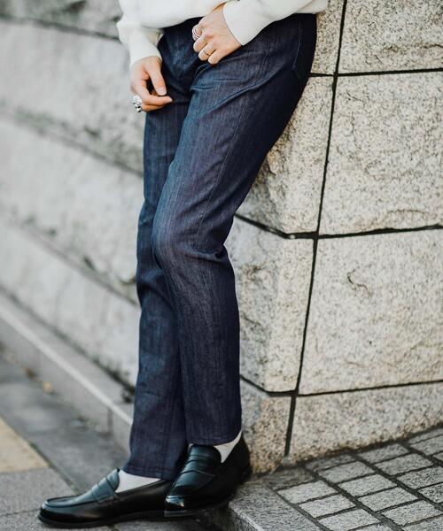 < 機能性 / 伸縮性 > CM スキニー ON デニム パンツ
