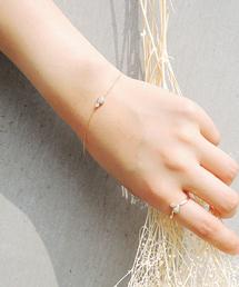 ete(エテ)のK10YGオパール ダイヤモンド ブレスレット(ブレスレット)