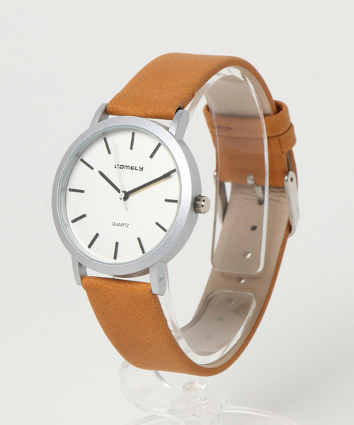 e933a6ea3b 【セール】カシュネ cachenez / COMELY シンプル ウォッチ 時計(腕時計)|cachenez(カシュネ)のファッション通販 -  ZOZOTOWN