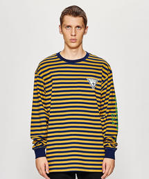 <GUESS GREEN LABEL> BORDER LS TEE/Tシャツ