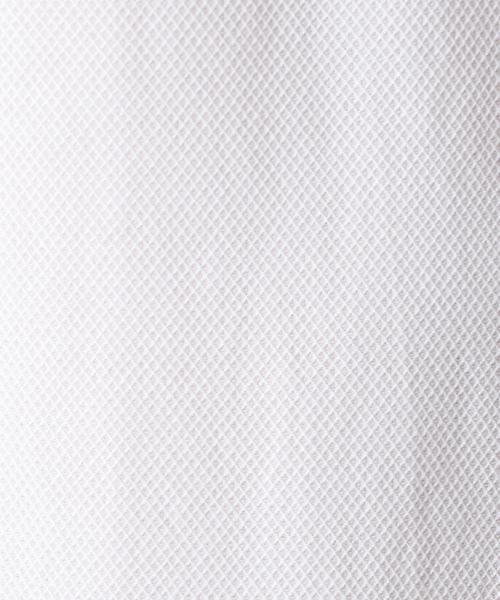 カラミシャンブレー ホリゾンタルシャツ