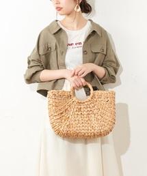 natural couture(ナチュラルクチュール)の綿麻ライトショートブルゾン(ブルゾン)