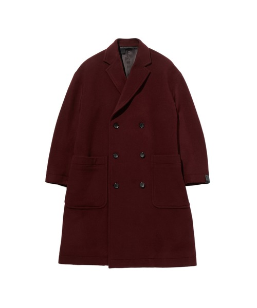 FALL2019 DOUBLE-BREASTED LONG COAT