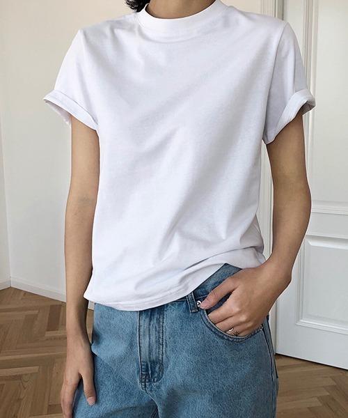 【chuclla】【2020/SS】ボトルネックTシャツ chw1246