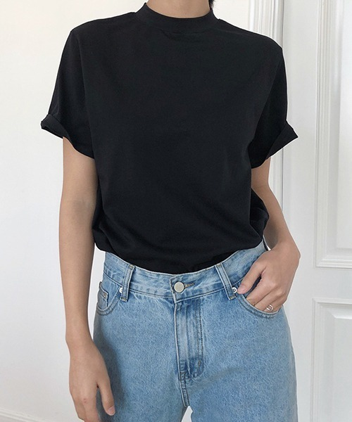 【chuclla】ボトルネックTシャツ chw1246