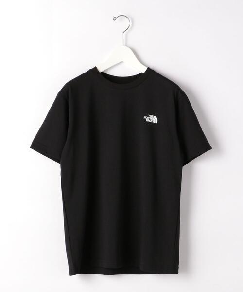 [ ザ ノースフェイス ] THE NORTH FACE スクエア— ロゴ Tシャツ