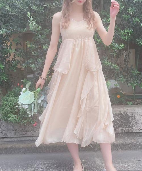 【Crea titty&Co.PETIT】creaサマーキャミドレス