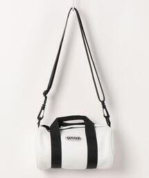 FAIRMEAD カウレザーロールボストンバッグ 211106 2.5Lホワイト
