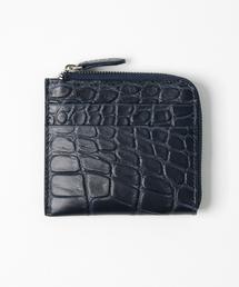 3cc753735097 SILVANO BIAGINI(シルヴァーノビアジーニ)の「L字財布 クロコ(財布)
