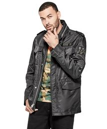 OUTLET(アウトレット)の「KENNITH PATCH CARGO ARMY JACKET(ミリタリージャケット)」