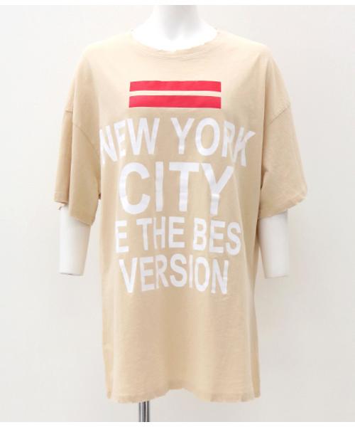 プリントダメージBIG Tシャツ