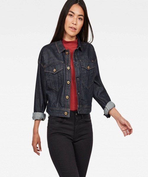 D-Staq Oversize Cropped Jacket