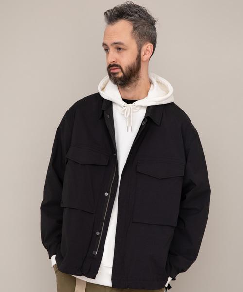 YARD PLUS ストレッチリップストップジャケット