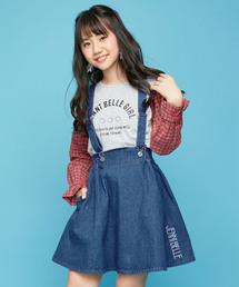 JENNI belle(ジェニィベル)のサス付きスカート(デニムスカート)