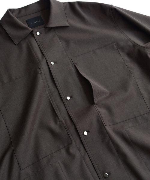 Wizzard ウィザード / WOOL SHIRTS JACKET ウールシャツジャケット / WSA19-054