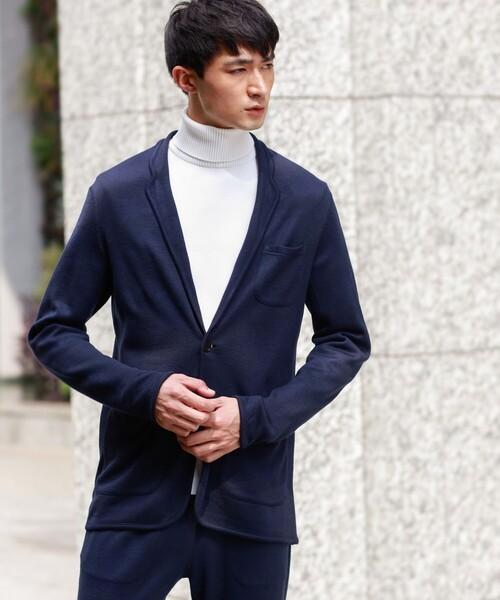 日本最大の LOVELESS MENS,ラブレスはっ水カモフラリバーニットジャケット(テーラードジャケット)|LOVELESS(ラブレス)のファッション通販, YOU+ ユープラス株式会社:e2ec456c --- kralicetaki.com