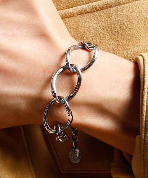 HARIM(ハリム)の「HARIM Beautiful chain ALL-link SV(ブレスレット)」|シルバー