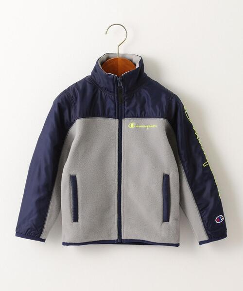 【キッズ】〔別注〕CHAMPION(チャンピオン)フリースフルジップジャケット