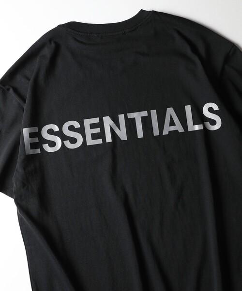 FOG ESSENTIALS(エフオージーエッセンシャルズ)の「WEB限定 FOG ESSENTIALS/エフオージーエッセンシャルズ Reflector Logo バックプリントTシャツ(Tシャツ/カットソー)」
