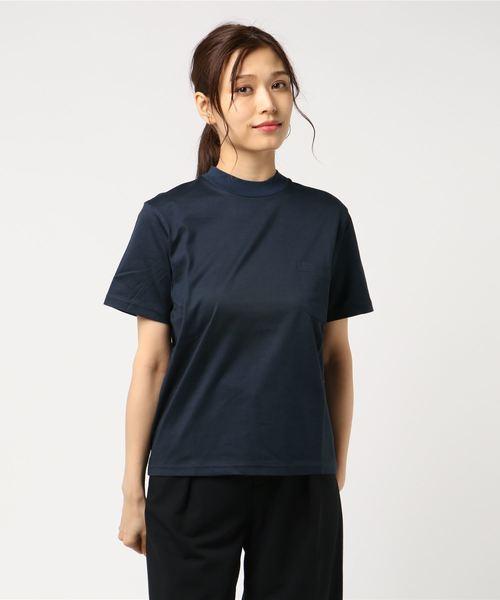 [L&HARMONY / エルアンドハーモニー] ハイクルーネックポケットTシャツ