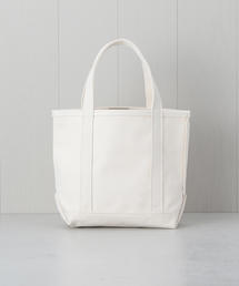 <L.L.Bean>TOTE BAG S WHITE/バッグ.