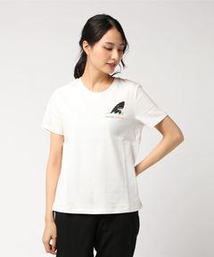 SCOTCH & SODA スコッチアンドソーダ / バックプリントクルーネックTシャツ