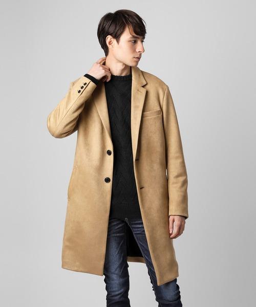 生まれのブランドで スエードチェスターコート(チェスターコート)|VANQUISH(ヴァンキッシュ)のファッション通販, コサイシ:0cd509e2 --- skoda-tmn.ru