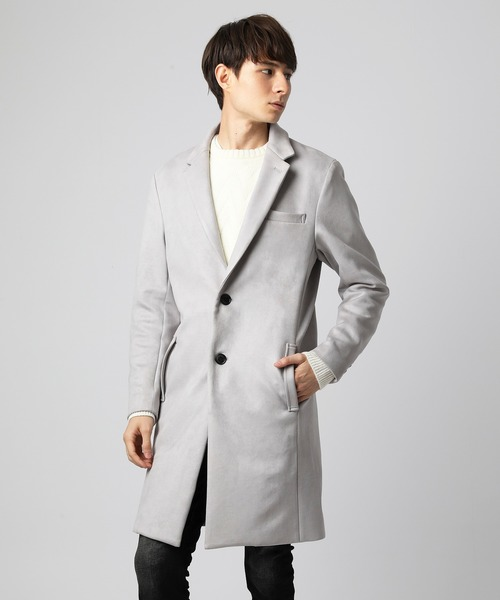 代引き手数料無料 スエードチェスターコート(チェスターコート) VANQUISH(ヴァンキッシュ)のファッション通販, 異国屋:d2458e36 --- skoda-tmn.ru