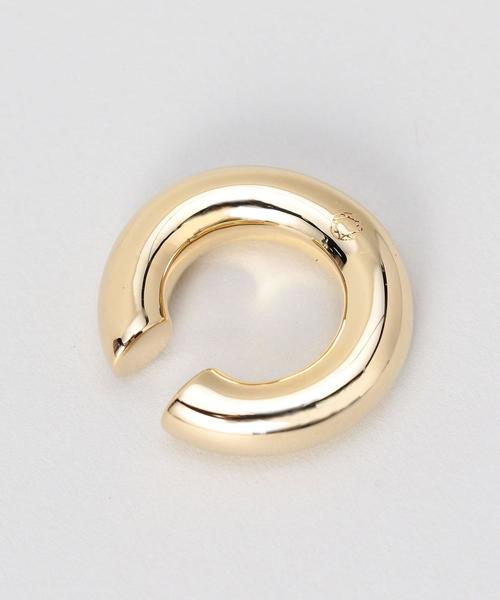 <SASKIA DIEZ>BOLD EARCUFF GOLD PLATED/イヤーカフ