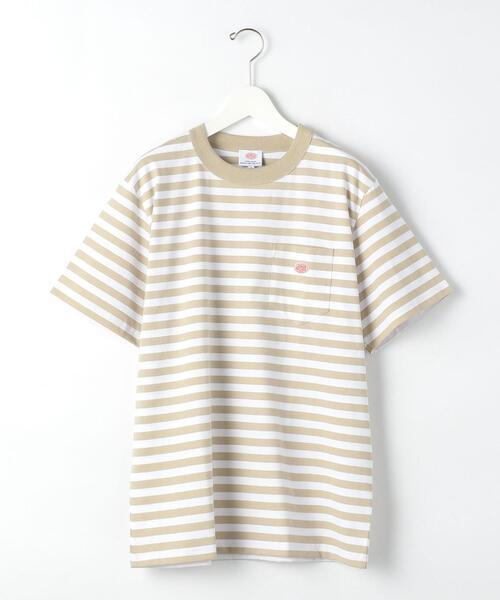 別注 [ アルモー リュックス ] SC ★ Armor Lux ワンポイント ボーダー Tシャツ