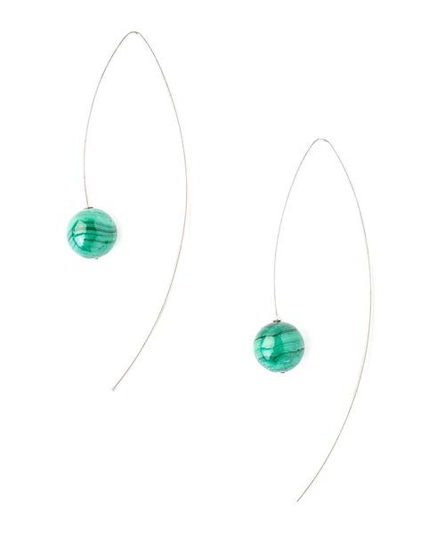 CHAN LUU EARRINGS(3Colors)(チャンルー ピアス)(MALACHITE,SODALITE,LABRADORITE)(Women's)(ES-5239)