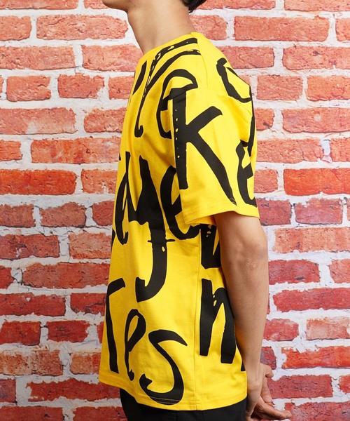 ビッグシルエットロゴプリント半袖Tシャツ(SS)