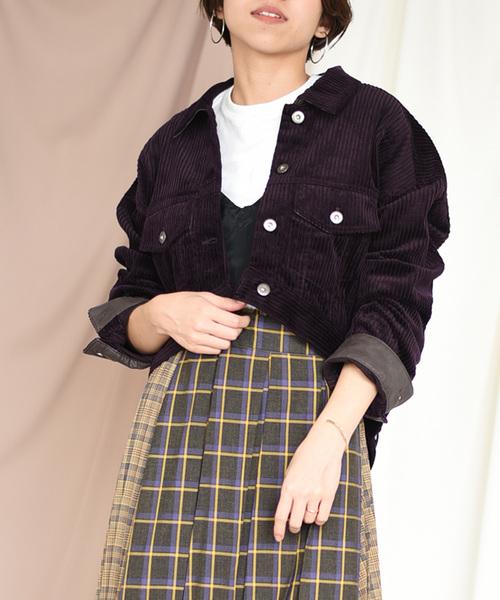 【Eimee Law】太コーデュロィショートジャケット